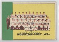 Houston Colt .45's Team [Good to VG‑EX]