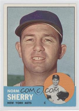 1963 Topps #316 - Norm Sherry