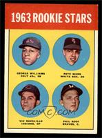 Rookie Stars (George Williams, Pete Ward, Vic Davalillo, Phil Roof) [EXMT]