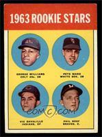Rookie Stars (George Williams, Pete Ward, Vic Davalillo, Phil Roof) [VGEX]