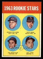 Rookie Stars (George Williams, Pete Ward, Vic Davalillo, Phil Roof) [EX MT]