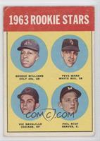 Rookie Stars (George Williams, Pete Ward, Vic Davalillo, Phil Roof) [Good…
