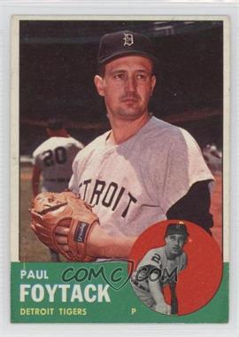 1963 Topps #327 - Paul Foytack