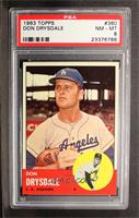 Don Drysdale [PSA 8]