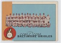 Baltimore Orioles Team [PoortoFair]