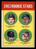 Ed Kirkpatrick, John Bateman, Garry Roggenburk, Larry Bearnarth [NM]