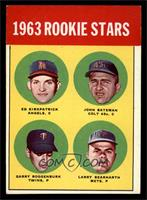 Ed Kirkpatrick, John Bateman, Garry Roggenburk [EX]