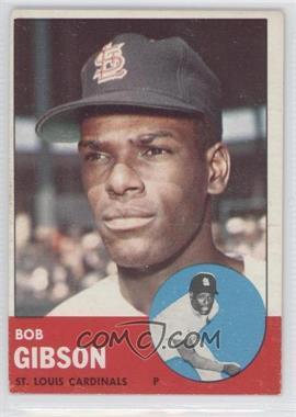 1963 Topps #415 - Bob Gibson