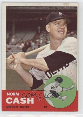 1963 Topps #445 - Norm Cash