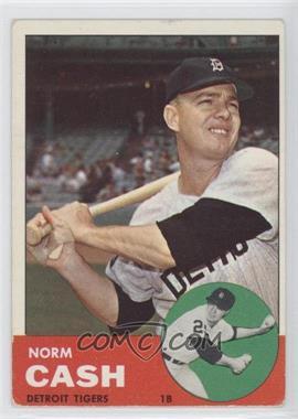 1963 Topps #445 - Norm Cash [GoodtoVG‑EX]