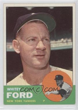 1963 Topps #446 - Whitey Ford