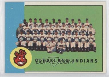 1963 Topps #451 - Cleveland Indians Team