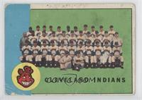 Cleveland Indians Team [Poor to Fair]