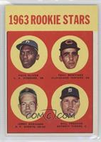 1963 Rookie Stars (Nate Oliver, Tony Martinez, Bill Freehan, Jerry Robinson)