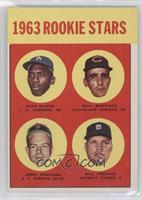 1963 Rookie Stars (Nate Oliver, Tony Martinez, Jean-Pierre Roy, Bill Freehan)