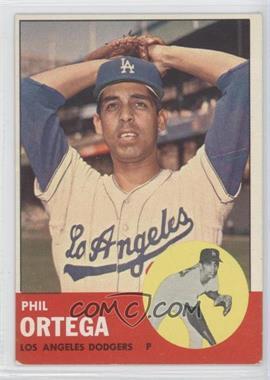 1963 Topps #467 - Phil Ortega [GoodtoVG‑EX]