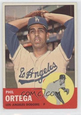 1963 Topps #467 - Phil Ortega