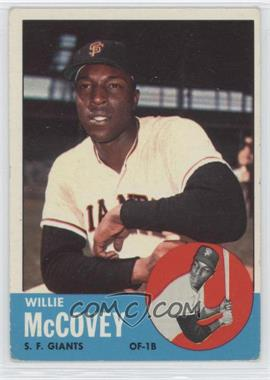 1963 Topps #490 - Willie McCovey
