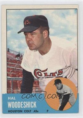 1963 Topps #517 - Hal Woodeshick