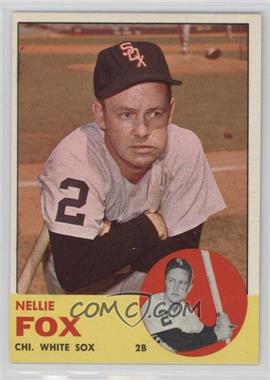 1963 Topps #525 - Nellie Fox