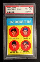 1963 Rookie Stars (Duke Carmel, Bill Haas, Dick Phillips, Rusty Staub) [PSA&nbs…