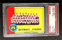 Detroit Tigers Team [PSA8]