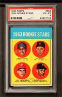 1963 Rookie Stars (Brock Davis, Jim Gosger, John Herrnstein, Willie Stargell) […