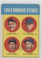Bill Faul, Ron Hunt, Al Moran, Bob Lipski [Poor]