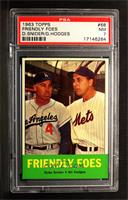 Friendly Foes (Duke Snider, Gil Hodges) [PSA 7]