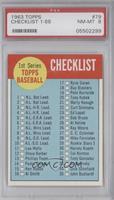 1st Series Checklist [PSA8]