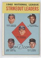 Don Drysdale, Sandy Koufax, Bob Gibson, Turk Farrell, Billy O'Dell [Good t…