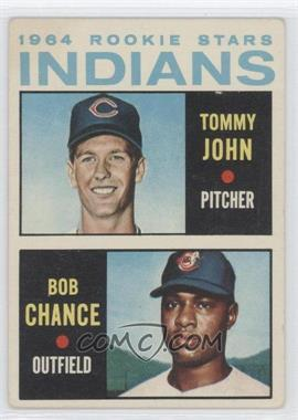 1964 Topps - [Base] #146 - 1964 Rookie Stars Indians (Tommy John, Bob Chance)