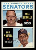 Mike Brumley, Lou Piniella [NM]