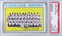 Cleveland Indians Team [PSA8(OC)]