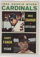 Cardinals Rookie Stars (Mike Shannon, Harry Fanok)