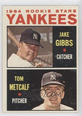 1964 Topps - [Base] #281 - Yankees Rookie Stars (Jake Gibbs, Tom Metcalf)