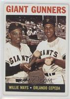 Giant Gunners (Willie Mays, Orlando Cepeda)