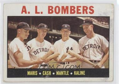 1964 Topps - [Base] #331 - A.L. Bombers (Roger Maris, Norm Cash, Mickey Mantle, Al Kaline) [Good to VG‑EX]