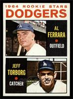 Dodgers Rookie Stars (Al Ferrara, Jeff Torborg) [NM MT]