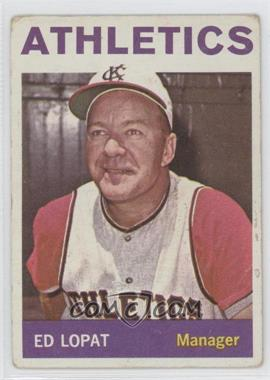 1964 Topps - [Base] #348 - Eddie Lopat [PoortoFair]