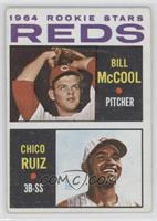Reds Rookie Stars (Billy McCool, Chico Ruiz)