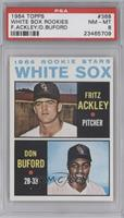 Fritz Ackley, Don Buford [PSA 8]