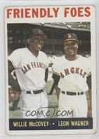 Friendly Foes (Willie McCovey, Leon Wagner) [GoodtoVG‑EX]