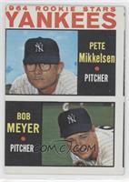 1964 Rookie Stars Yankees (Pete Mikkelsen, Bob Meyer)