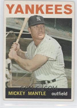 1964 Topps - [Base] #50 - Mickey Mantle