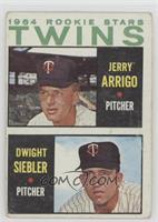 Rookie Stars Twins (Jerry Arrigo, Dwight Siebler) [PoortoFair]