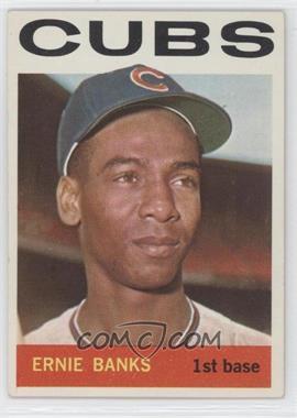 1964 Topps - [Base] #55 - Ernie Banks