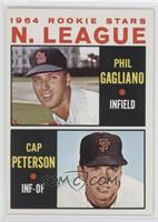 Phil Gagliano, Cap Peterson