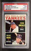 Yankees Rookie Stars (Pedro Gonzalez, Archie Moore) [PSA7(MC)]