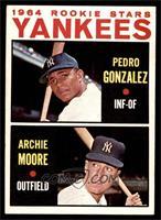 Yankees Rookie Stars (Pedro Gonzalez, Archie Moore) [EXMT]